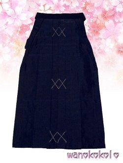 画像3: 卒園式・七五三着物 七歳女の子用刺繍入袴★月★紺色系/中太桜・小花柄