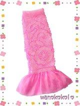 七五三 女の子用正絹絞り帯揚げ ピンク系
